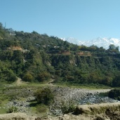 On the way to Dharamshala