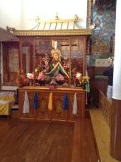 At the Kalachakra temple