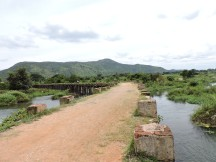 Old bridge on the way to Bharachukki