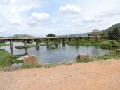 Kaveri river banks near the old bridge