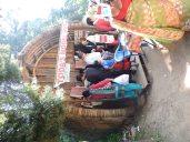 Toda hut at Botanical Garden
