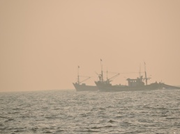 Panambur beach, sunset, part 4