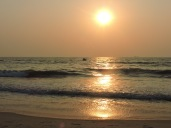 Sunset at Panambur beach, part 1