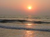 Panambur beach,sunset, part 3