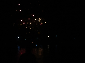 Sad attempt at capturing the fireworks!