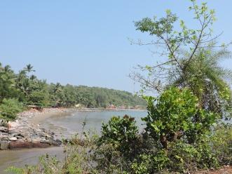 Beginning the trek to Paradise Beach