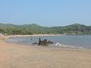 One half of Om Beach