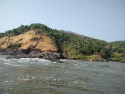 Boat ride from Paradise Beach to Om Beach