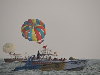 Parasailing- Baga beach